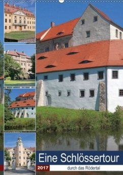 9783665563899 - Dudziak, Gerold: Eine Schlössertour durch das Rödertal (Wandkalender 2017 DIN A2 hoch) - Book