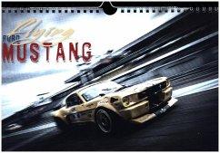 9783665563318 - Hinrichs, Johann: Flying Ford Mustang (Wandkalender 2017 DIN A4 quer) - Libro