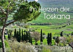 9783665564148 - Heußlein, Jutta: Im Herzen der Toskana (Wandkalender 2017 DIN A3 quer) - کتاب