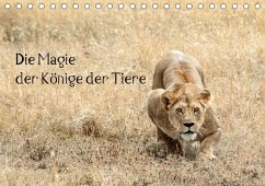 9783665563271 - Skrypzak, Rolf: Die Magie der Könige der Tiere (Tischkalender 2017 DIN A5 quer) - Libro