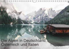 9783665563479 - Kochinke, Florian: Die Alpen in Deutschland, Österreich und Italien (Wandkalender 2017 DIN A4 quer) - كتاب