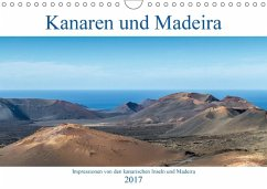 9783665563448 - Aug: Kanaren und Madeira (Wandkalender 2017 DIN A4 quer) - Könyv