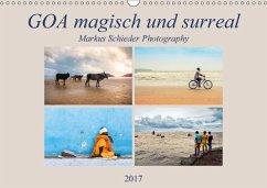 9783665563639 - Creativemarc: GOA magisch und surreal (Wandkalender 2017 DIN A3 quer) - Livre