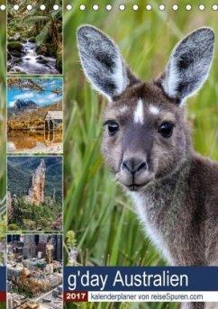 9783665563714 - Bergwitz, Uwe: g´day Australien 2017 (Tischkalender 2017 DIN A5 hoch) - Kniha