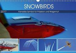 9783665563660 - Pfaff, Hans-Gerhard: SNOWBIRDS - Kanadas Symbol für Präzision und Wagemut (Wandkalender 2017 DIN A3 quer) - Book