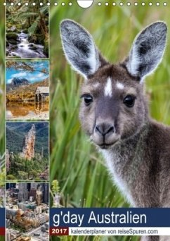 9783665563691 - Bergwitz, Uwe: g´day Australien 2017 (Wandkalender 2017 DIN A4 hoch) - Livre