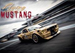 9783665563332 - Hinrichs, Johann: Flying Ford Mustang (Wandkalender 2017 DIN A2 quer) - Livre
