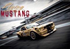 9783665563325 - Hinrichs, Johann: Flying Ford Mustang (Wandkalender 2017 DIN A3 quer) - Libro