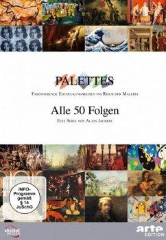 Palettes - alle 50 Folgen DVD-Box