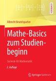Mathe-Basics zum Studienbeginn (eBook, PDF)