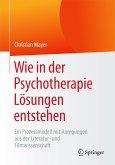 Wie in der Psychotherapie Lösungen entstehen (eBook, PDF)