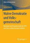 Wahre Demokratie und Volksgemeinschaft (eBook, PDF)