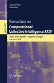 Transactions on Computational Collective Intelligence XXIV (eBook, PDF)