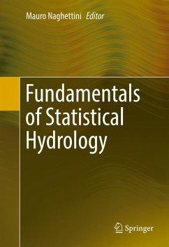 Fundamentals of Statistical Hydrology (eBook, PDF)