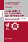 Human-Centered and Error-Resilient Systems Development (eBook, PDF)