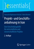 Projekt- und Geschäftsanbahnung in Iran (eBook, PDF)