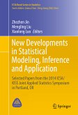 New Developments in Statistical Modeling, Inference and Application (eBook, PDF)
