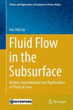 Fluid Flow in the Subsurface (eBook, PDF) - Liu, Hui-Hai