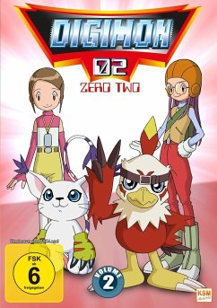 Digimon Adventure 02 - Vol. 2 - Episoden 18-34 (3 DVDs)