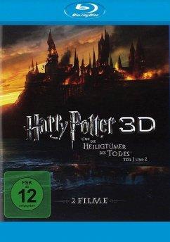Harry Potter und die Heiligtümer des Todes - Teil 1 & 2 BLU-RAY Box - Keine Informationen