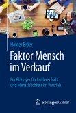 Faktor Mensch im Verkauf (eBook, PDF)
