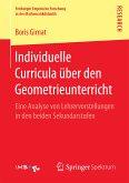 Individuelle Curricula über den Geometrieunterricht (eBook, PDF)
