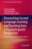 Researching Second Language Learning and Teaching from a Psycholinguistic Perspective (eBook, PDF)