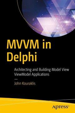 MVVM in Delphi (eBook, PDF) - Kouraklis, John