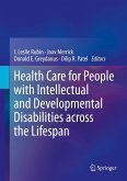 Health Care for People with Intellectual and Developmental Disabilities across the Lifespan (eBook, PDF)