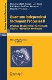 Quantum Independent Increment Processes II (eBook, PDF)