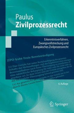 Zivilprozessrecht (eBook, PDF) - Paulus, Christoph G.