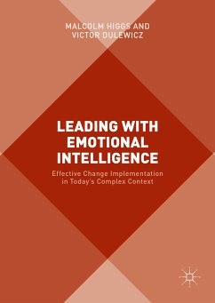 Leading with Emotional Intelligence (eBook, PDF) - Dulewicz, Victor; Higgs, Malcolm