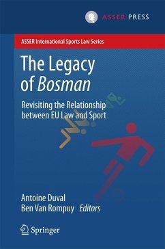 The Legacy of Bosman (eBook, PDF)