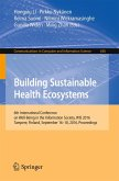 Building Sustainable Health Ecosystems (eBook, PDF)