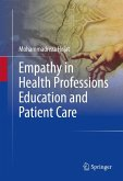 Empathy in Health Professions Education and Patient Care (eBook, PDF)