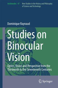 Studies on Binocular Vision (eBook, PDF) - Raynaud, Dominique