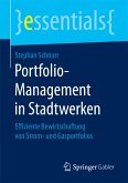 Portfolio-Management in Stadtwerken (eBook, PDF)