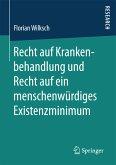 Recht auf Krankenbehandlung und Recht auf ein menschenwürdiges Existenzminimum (eBook, PDF)