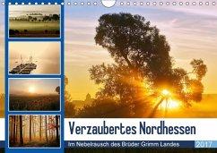 9783665565060 - Klapp, Lutz: Verzaubertes Nordhessen (Wandkalender 2017 DIN A4 quer) - Buch