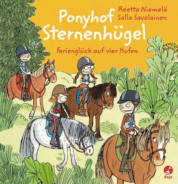 Buch-Reihe Ponyhof Sternenhügel