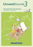 Umweltfreunde 3. Schuljahr - Berlin/Brandenburg - Arbeitsheft