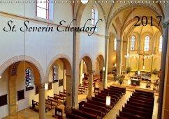 9783665564803 - Corsten Bilderzoom Aachen, Monika: St. Severin Eilendorf 2017 (Wandkalender 2017 DIN A3 quer) - Buch
