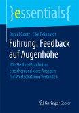 Führung: Feedback auf Augenhöhe (eBook, PDF)