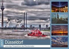 9783665565008 - Hackstein, Bettina: Düsseldorf - Lebendige Perspektiven des Rheinkometen (Wandkalender 2017 DIN A2 quer) - کتاب