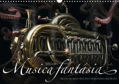 9783665564957 - Bruhn, Olaf: Musica fantásia - Die wundersame Welt des Fotokünstlers Olaf Bruhn (Wandkalender 2017 DIN A3 quer) - کتاب
