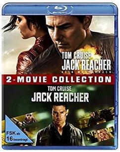 Jack Reacher +Jack Reacher 2 Kein Weg zurück - 2 Disc Bluray