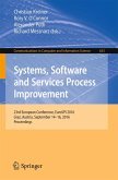 Systems, Software and Services Process Improvement (eBook, PDF)