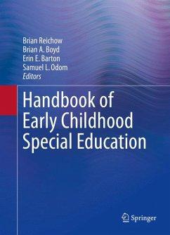 Handbook of Early Childhood Special Education (eBook, PDF)