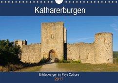 9783665564285 - LianeM: Katharerburgen - Entdeckungen im Pays Cathare (Wandkalender 2017 DIN A4 quer) - کتاب