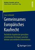 Gemeinsames Europäisches Kaufrecht (eBook, PDF)